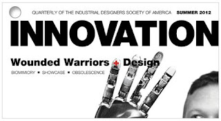 Summer 2012 issue of INNOVATION featuring article about the One Handed World study by Kelley Styring of InsightFarm