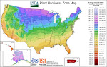 USDA Plant Hardiness Zones