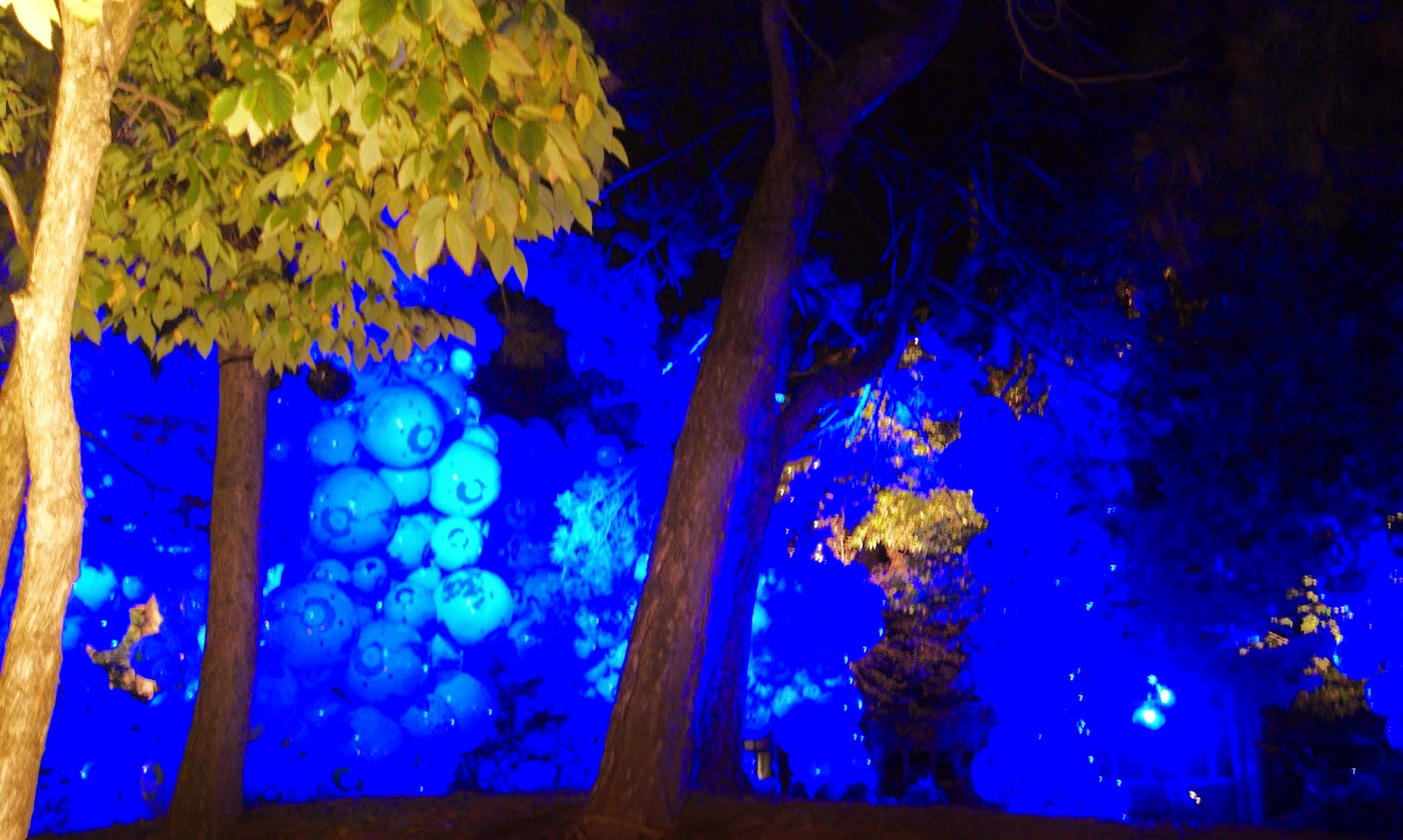 Toronto Nuit Blanche 2014: Walk among Worlds, 2011 by Maximo Gonzalez, Art, artmatters, culture, the purple scarf, melanie,ps, installation, performance, ontario, canada