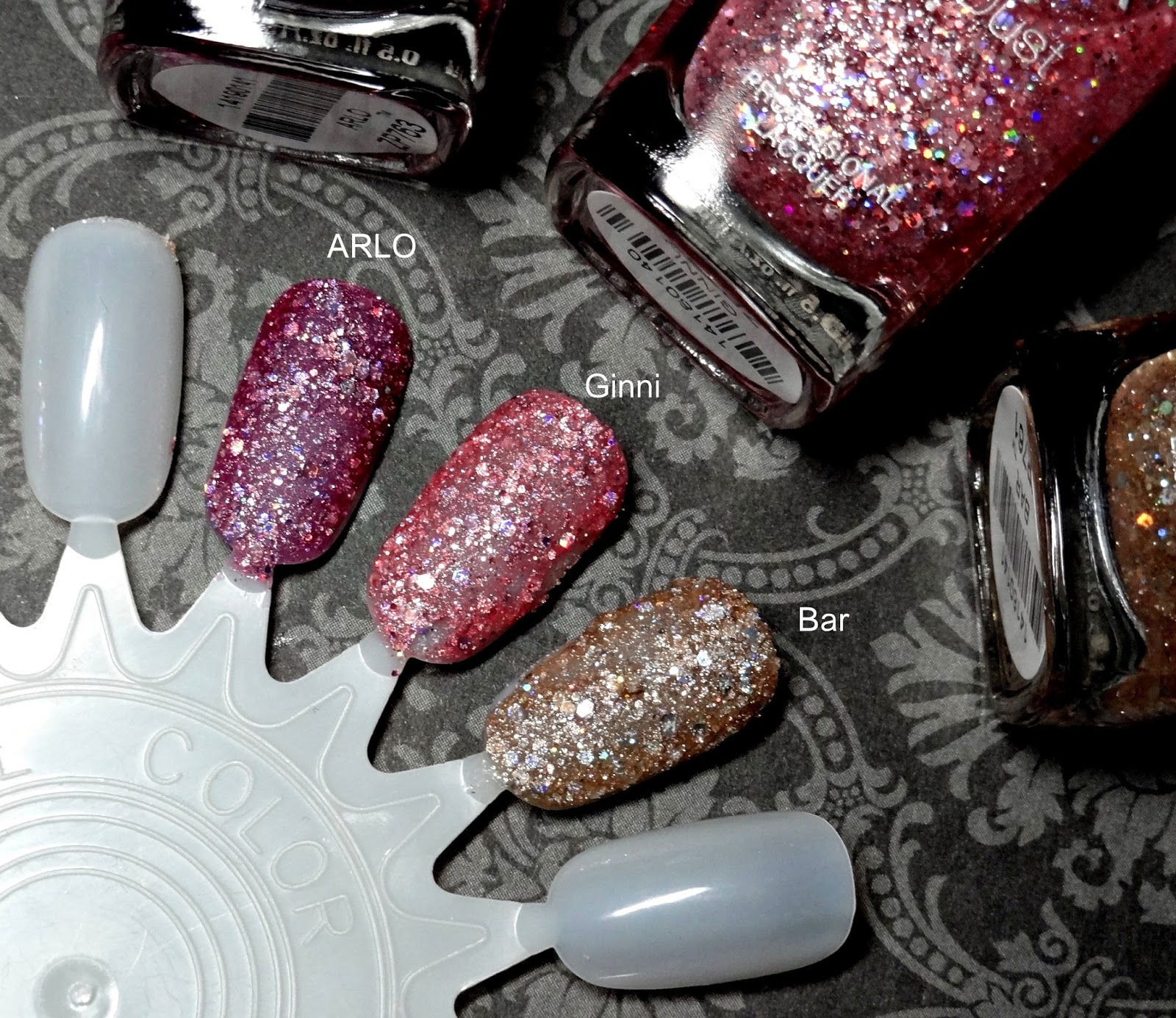 ZOYA Magical Pixie Summer 2014 Collection Review, Photos & Swatches Arlo Ginni Bar