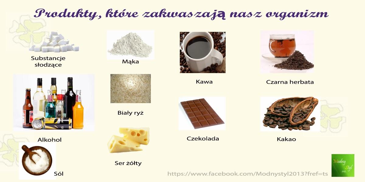 Produkty, które zakwaszają Nasz organizm