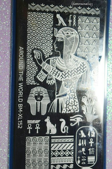 Bundle Monster Around The World BM-XL152 Stamping Plate