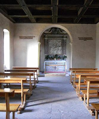 Cela transformada em capela onde morreu São Tomás