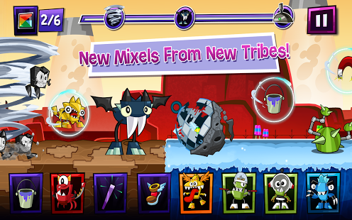 Mixels Rush Apk + Data Android