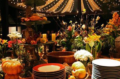buffet quitutes comida jantar arraiá de núpcias flores de papel crepom casamento julino