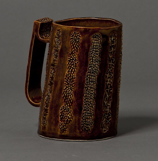 Brown Tankard Beer Stein