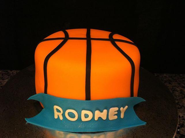 Cakes By Liz Small Basketball Birthday Cake