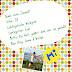 Blogger-Freundschaftsbuch: mit Sonne & Wolken