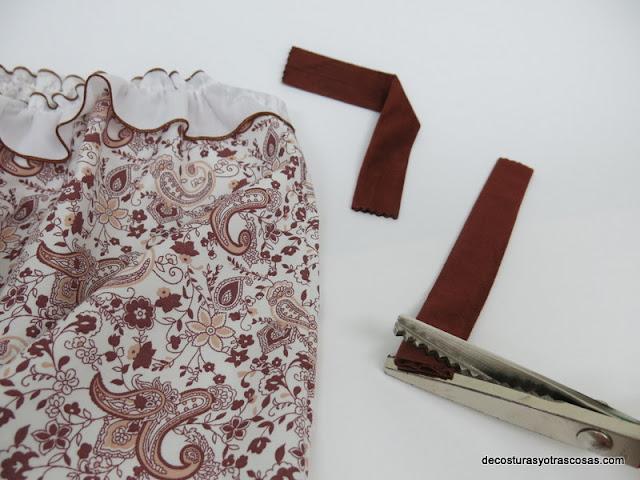 tirantes de antelina para vestido