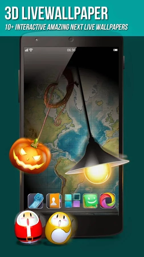 Next Launcher 3D Shell v3.16 build 138 Patched