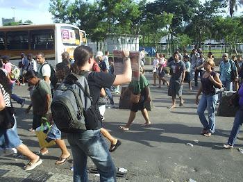 Brigadas de divulgação nas ruas