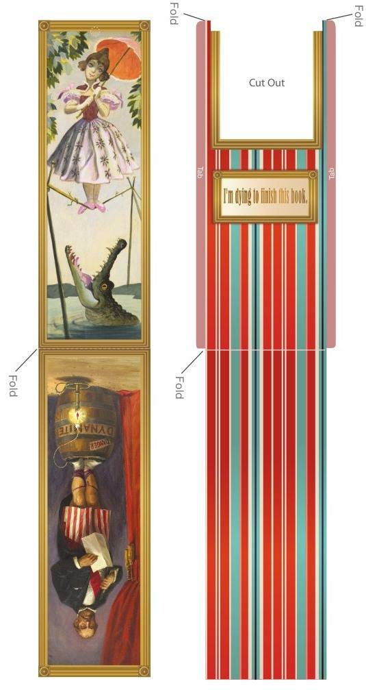 Cool Cards Design Bookmark Haunted Mansion