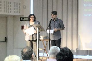 Mercè Bagaria i Sergi G. Oset (Fotografia: Esther Llobet i Díaz)