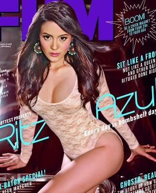 pdf copy of ritz azul TV5 fhm philippines sexy pictures and images
