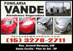 FUNILARIA VANDE ATENDEMOS SEGURADORAS