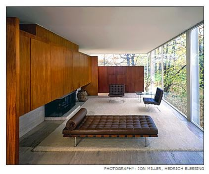 Farnsworth House, Mies van der Rohe, Plano Illinois