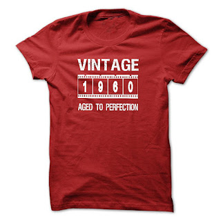 VINTAGE 1960 Aged To Perfection T-Shirt And Hoodie - 1960 Tshirt And Hoodie
