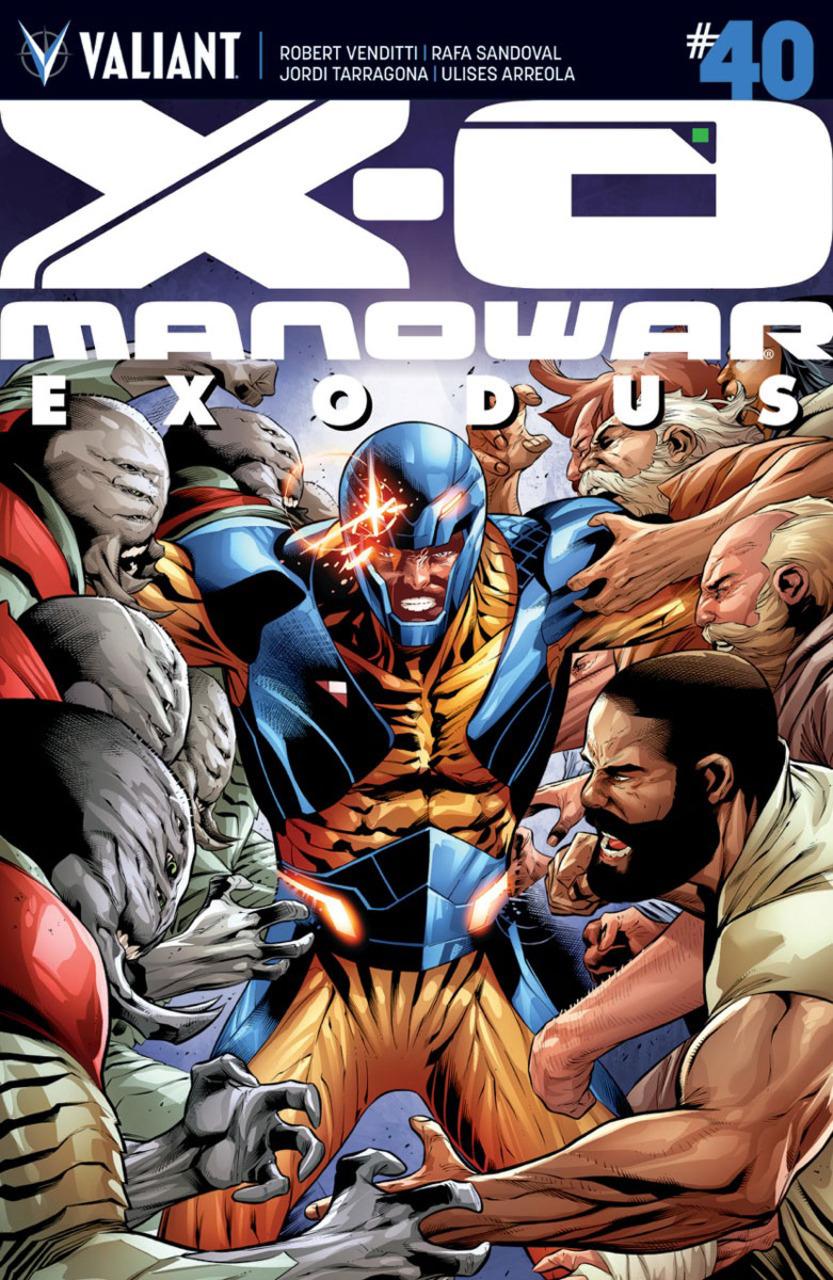 X-O MANOWAR#40