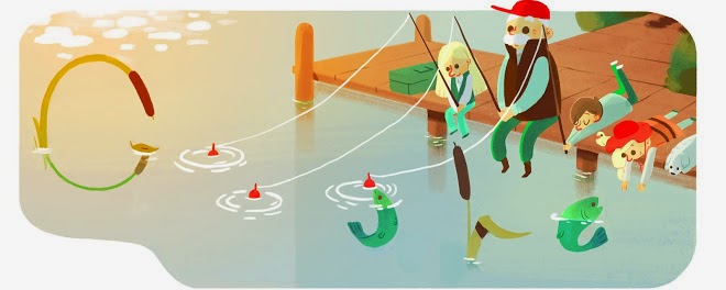 Grandfather's Day 2015 (Poland) Google Doodle