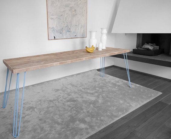 Haipin table - Design by Luca Cerqui