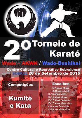 Cartaz Torneio AKWK / Wado Bushikai