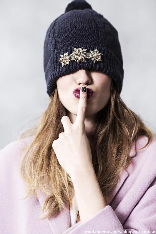 Gorros invierno 2014 accesorios de moda.