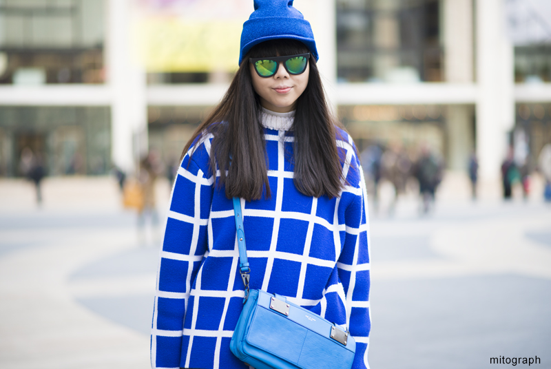 mitograph Susie Lau New York Fashion Week 2013 2014 Fall Winter NYFW Street Style Shimpei Mito