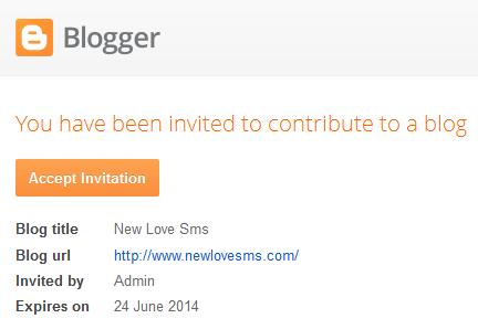 add author,add author to your blog,লেখক যোগ করা,ব্লগে লেখক যোগ করা