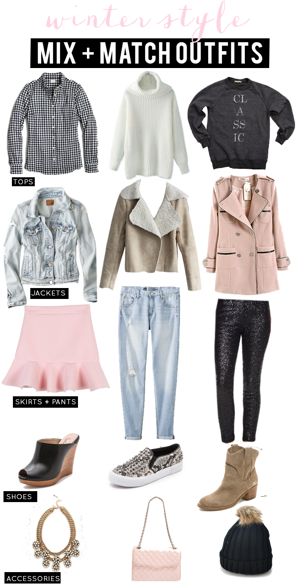 Mix & Match Winter Outfit Ideas