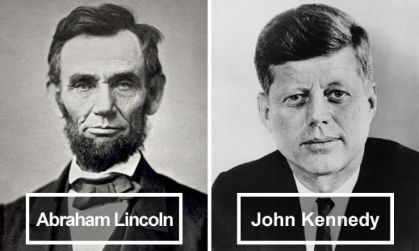 Abraham Lincoln dan John F. Kennedy