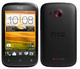 HTC DESIRE C OMINAISUUDET