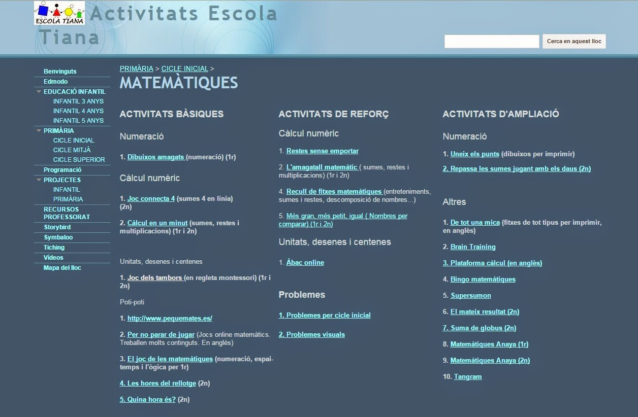 https://sites.google.com/a/xtec.cat/activitats-escola-tiana/