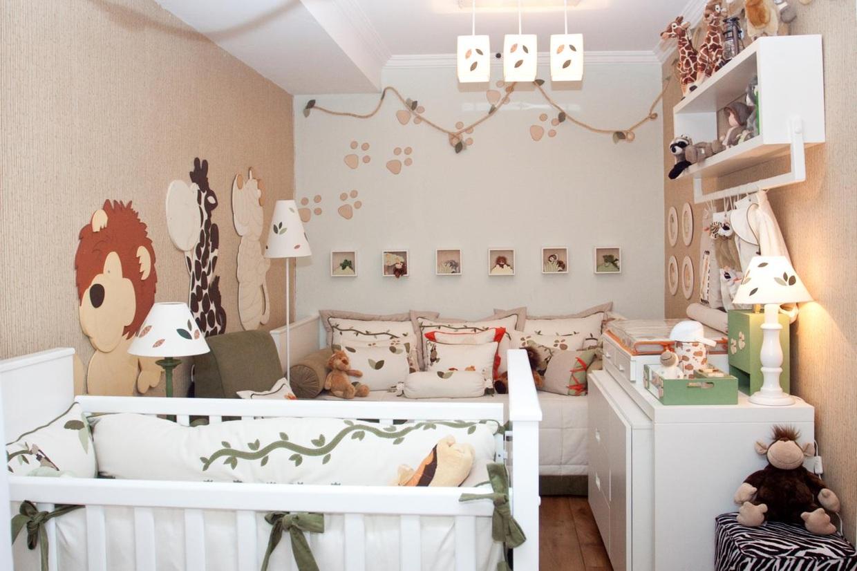 Baixar Imagem Papel de parede quarto de bebê decorado ~ Quartos Decorados Com Papel De Parede Bebe