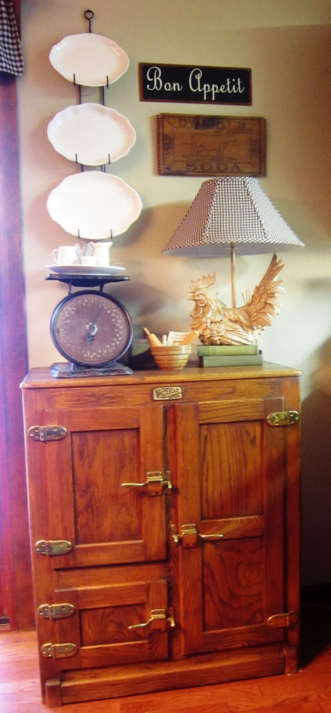Kindred Style Oak Ice Box Makeover
