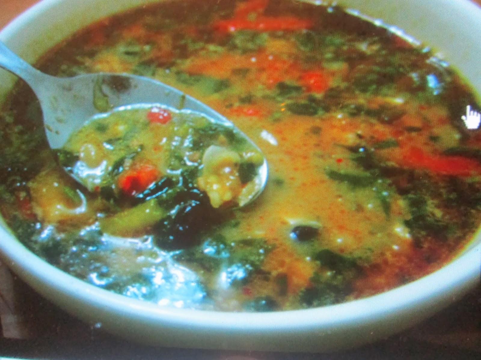 Afro-Mexican Pumpkin Soup