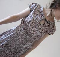 Liberty print silk Miz Mozelle dress