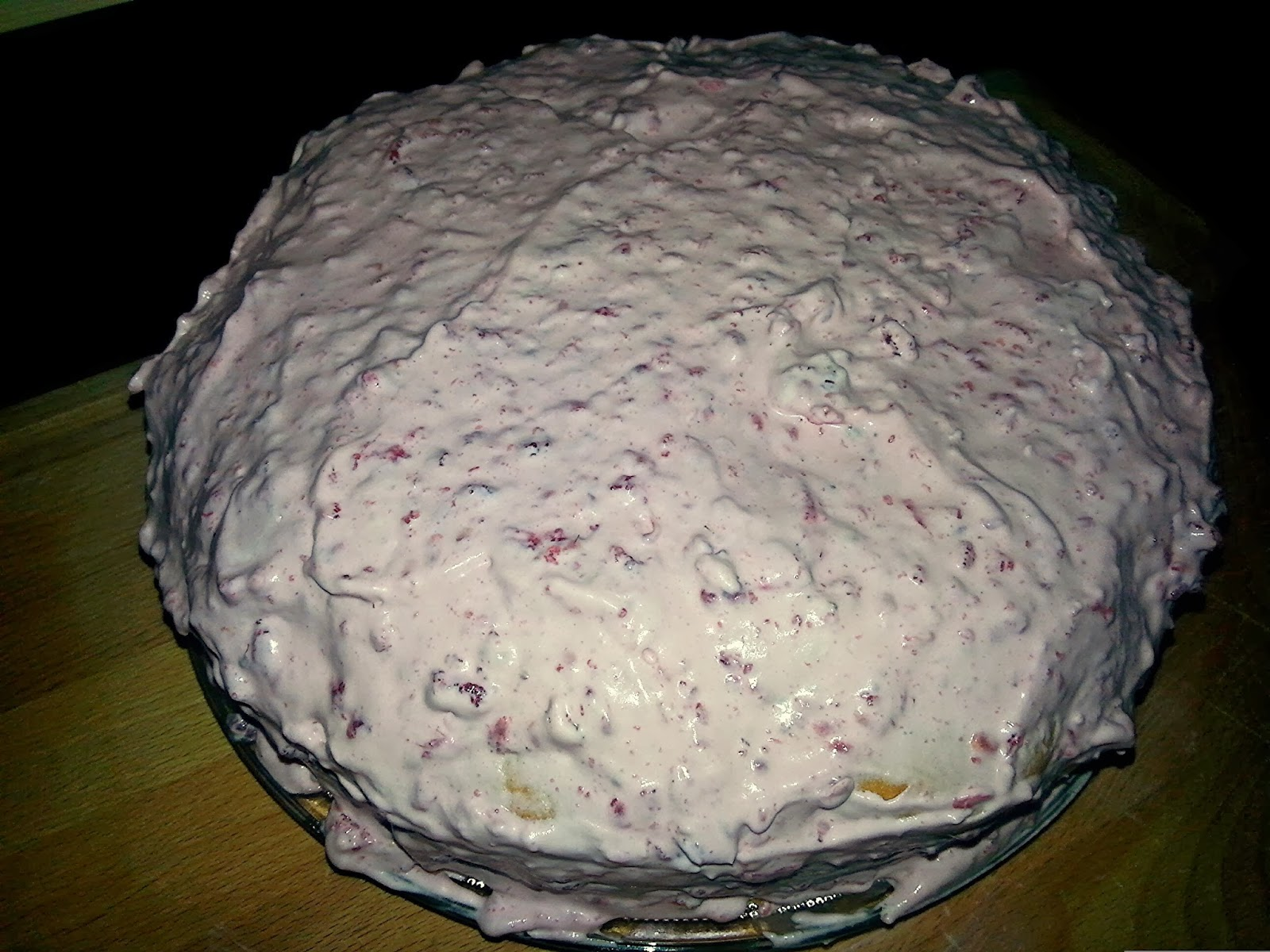 ciasto z kremem malinowym Me Aftr Hours Blog
