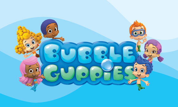 Lydia Bakes Bubble Guppies Cake And Cupcakes