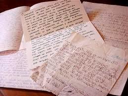 Considero minhas obras como cartas