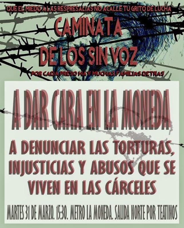 SANTIAGO CENTRO:    Marcha de Lxs Sin Voz. A Dar Cara en La Moneda