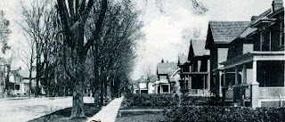 King St. looking East: residential neighbourhood. early 1900s. Source: OurOntario.ca