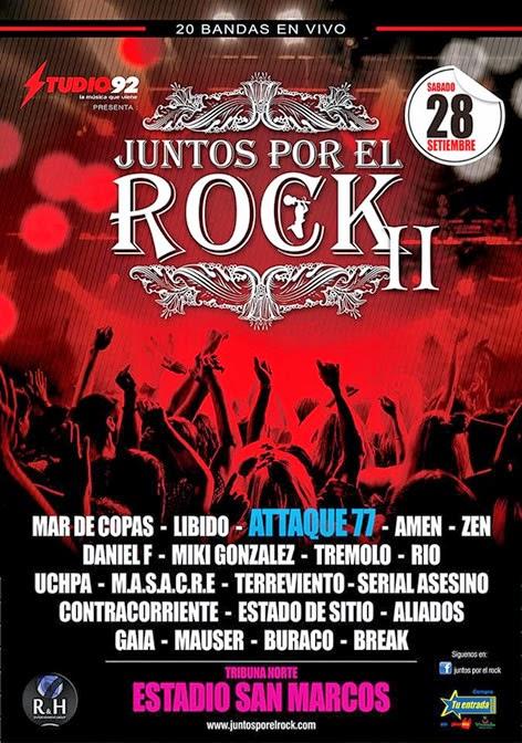 TRÉMOLO en Juntos Por El Rock 2