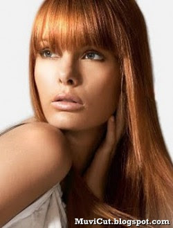 cute long hairstyles with bangs  muvicut hairstyles for girls