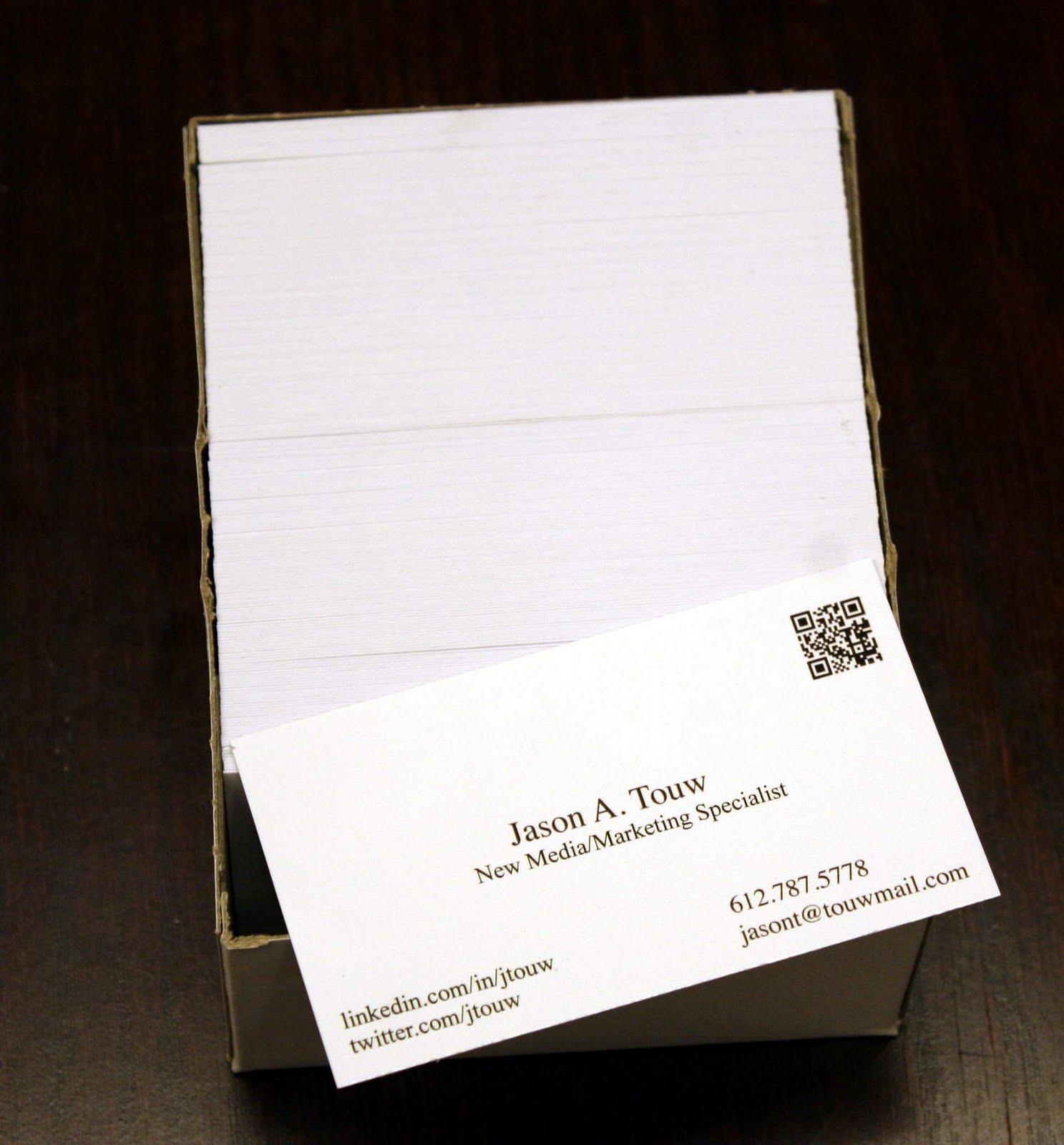 Wayzata Printing   952-473-1000: Jason Touw business cards