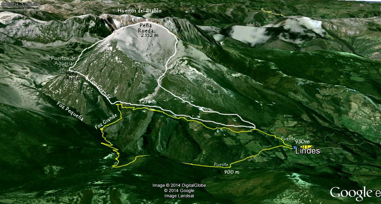 Mapa 1 - Ortográfico Bosque de Lindes