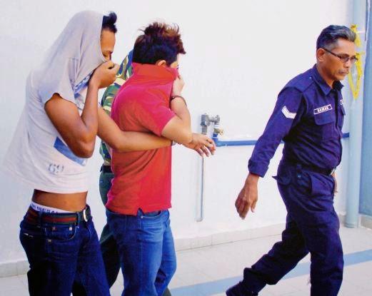 8 Remaja Ditangkap Rogol Gadis Bawah Umur Berkumpulan