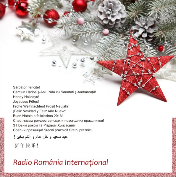 Rundangerously radio romania international shortwave holiday greetings this beautiful holiday greetings card from radio romania international arrived in my email today i received an old school qsl card from them this summer m4hsunfo