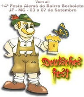 CARTAZ DA FESTA ALEMÃ DE 2008