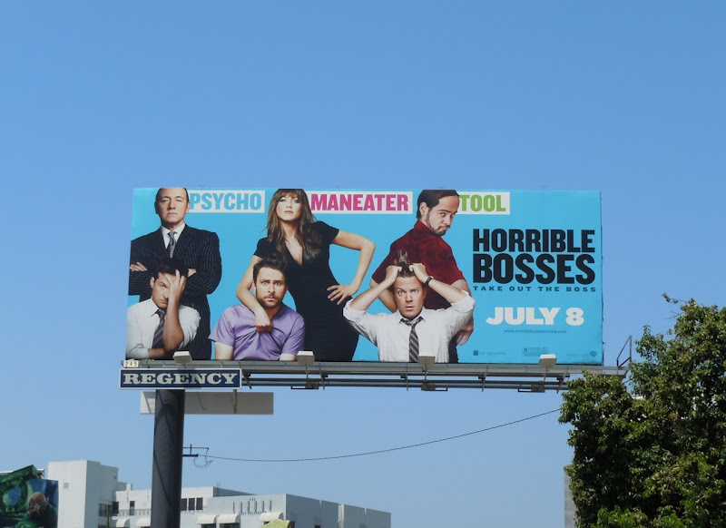 Horrible Bosses movie billboard
