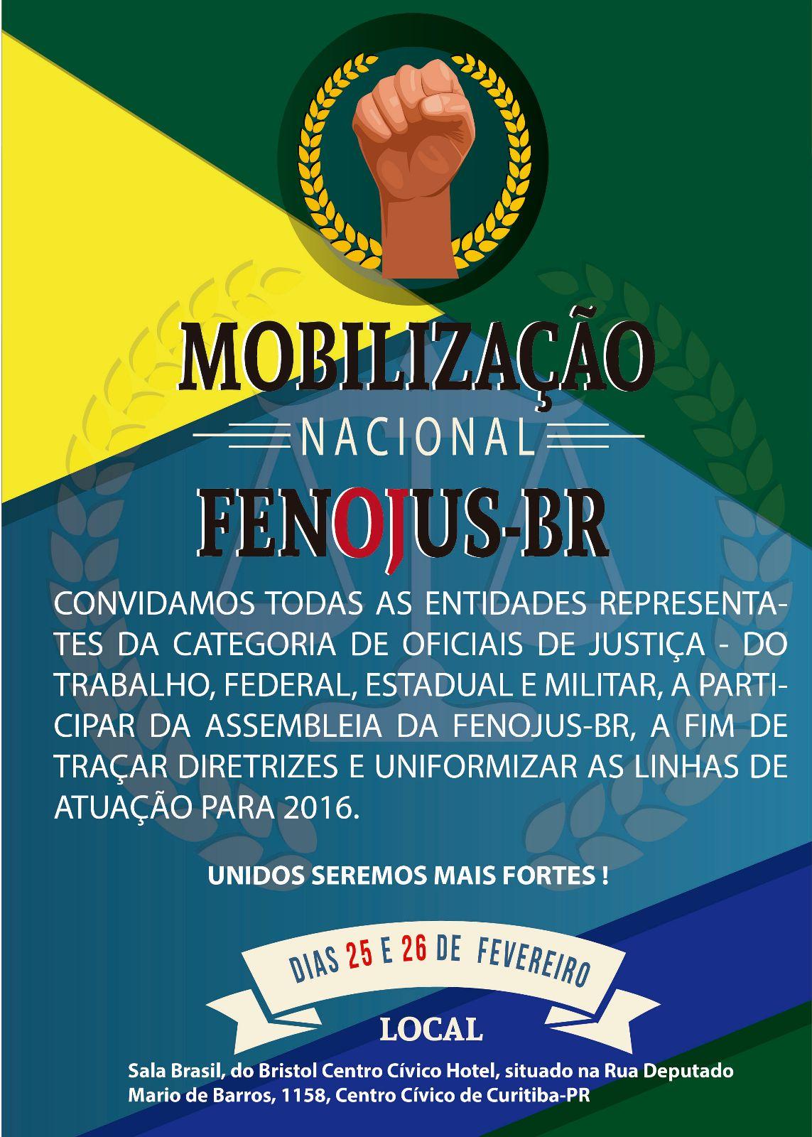Convite Fenojus